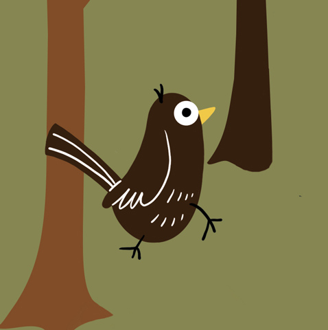 A blackbird with a fear of heights, and Woody's best friend.
